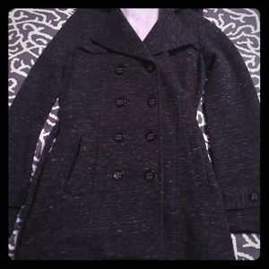 Black and White Heather Jacket-NWT